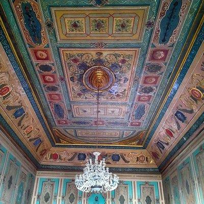 Interior of Manasterly palace