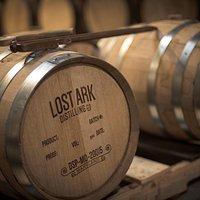 Lost Ark Distilling whiskey barrels