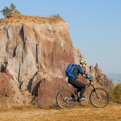 Riding the Ridge of the Volcano