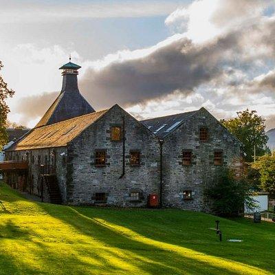Dewar's Aberfeldy Distillery exterior shot