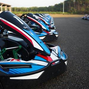Karting Sodi SR5 aux circuits de Magescq.