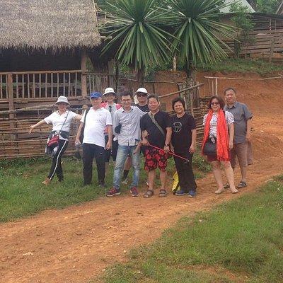 Light Trek To Khmu & Hmong Village