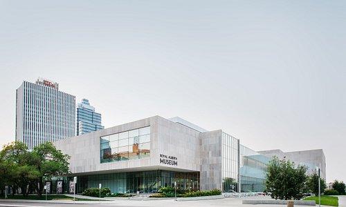 The new Royal Alberta Museum