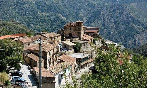 Gallicianò di Condofuri (RC). Panorama visto dall'anfiteatro.