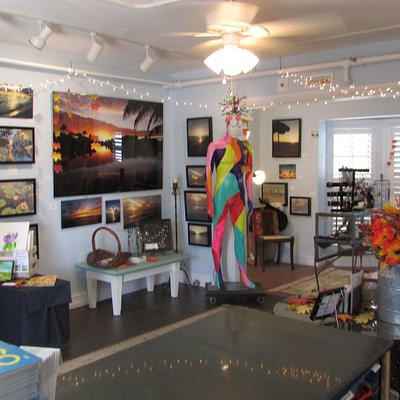 Inside Local Color Art Gallery