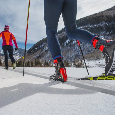 17K of Classic and Skate Ski Trails