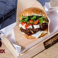 Burger Kozioł - w roli głównej ser kozi.