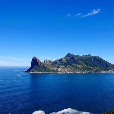 The Sentinel peak in Hout Bay, Cape Town
