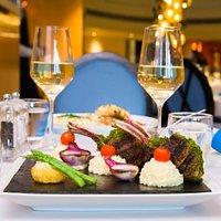 The Blue Restaurant Dinner