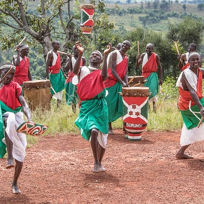 A mix of cultural dance and Royal drums performance in Burundi.