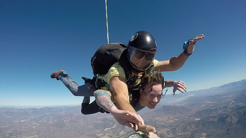 Tandem fun in FREEFALL!!!!
