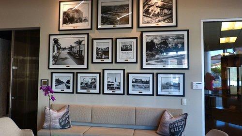 Beverly Hills Visitor Centre - Inside