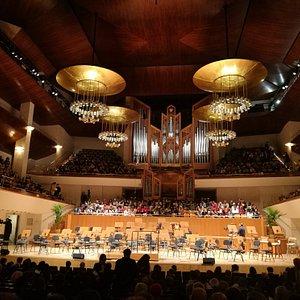 Sala Sinfónica del Auditorio.