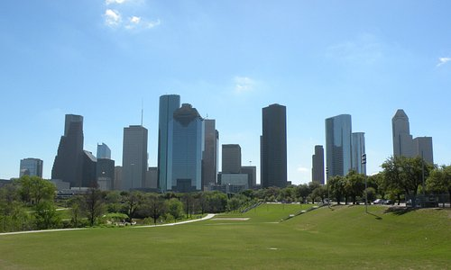 Eleanor Tinsley Park, Buffalo Bayou Walk, Houston, Texas - Marzo 2017