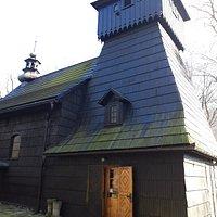 Boczne wejście do kościoła