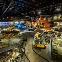 World War II in Europe Gallery including the Arsenal of Democracy Home Front exhibit