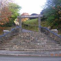 Entrance to Bryn Coffa (off Porthmadog High Street)