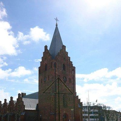 La iglesia de Grenaa.