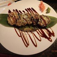 freshwater eel (unagi) tempura
