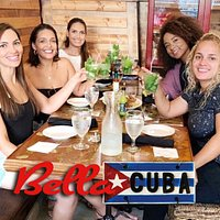 Ladies enjoying Happy Hour at Bella Cuba