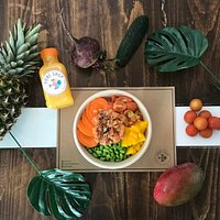 Poké Bowls tan naturales y saludables como sus frutas y verduras