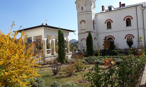 Bistrita Monastery ,outside