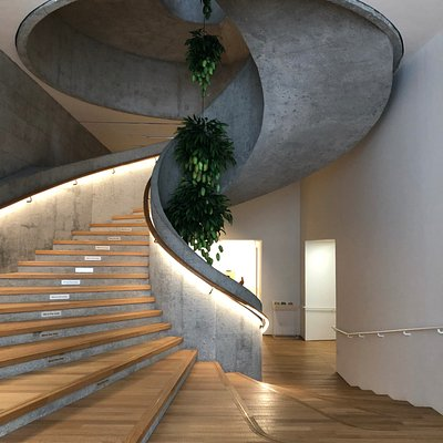 JC Contemporary (Tai Kwan) - the staircase (3)