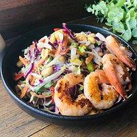 Vietnamese Salad with Prawns from Summer 2019 menu
