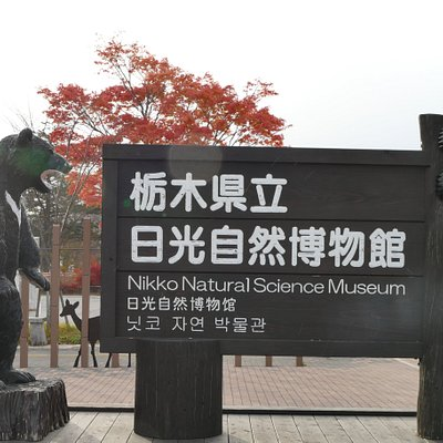 Signboard of the Natural Science Museum