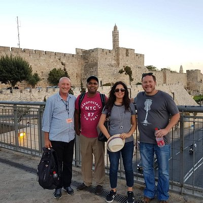 The tour to Jerusalem for our US guests was a unique & spiritual time. it is a MUST visit!