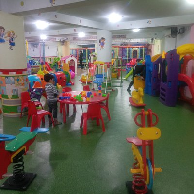 Soft play Inc trampolines