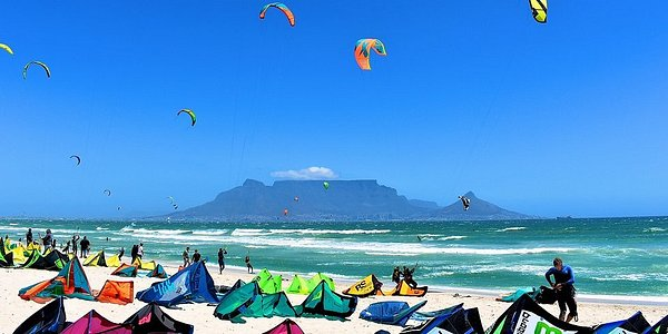 Red Bull King of the Air, Table View, Cape Town. Epic event worth seeing at least once. If you are an avid kite surfer then come for the entire event over two weeks.   This event was held directly on Kite Beach and the crowds loved it including us! Many windy days here. Table View is the best spot for kite surfers and windsurfers coming from abroad to experience our wind, waves and waters!