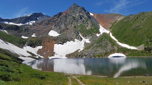 Радоновое озеро, г. Риддер, Ивановский хребет
