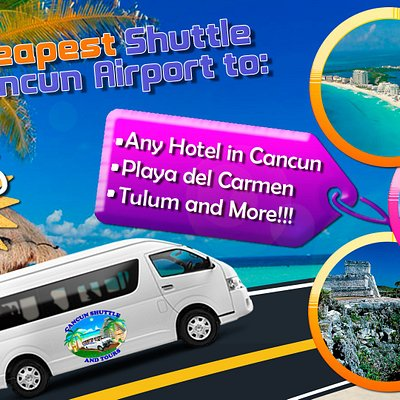Here you will find the best Tours at the Best price Guaranteed, Transportation from Airport to any Hotel in Cancun. Playa del Carmen, Tulum or Riviera Maya