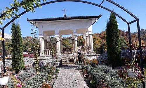 Bistrita Monastery -outside