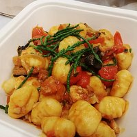 Gnocchi special with fish