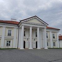 Pałac z zewnątrz