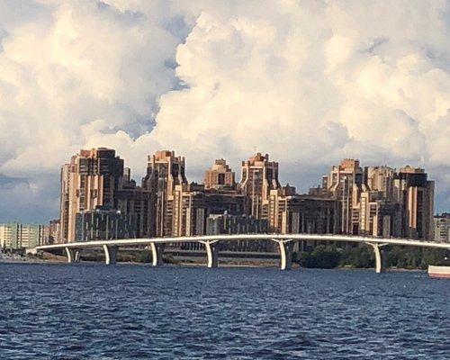 "Яхтенный мост к cтадиону ""Санкт-Петербург-Арена"""