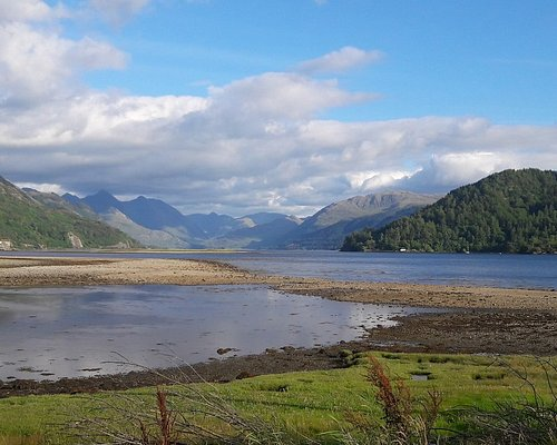 View towards Loch Duich from Ardelve a popular spot on some of our Scottish Highland Tours