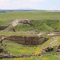 Ruinen von Gordion.
