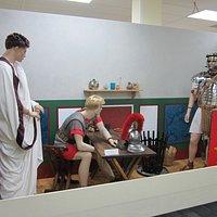 Roman military display