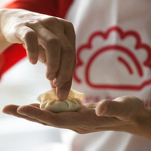 Every single dumpling should be made by hand with care!