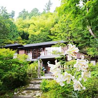Kanaya Hotel History House with mountain lilies
