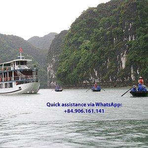 Ha Long Bay - photo taken by Incredible Vietnam Tours
