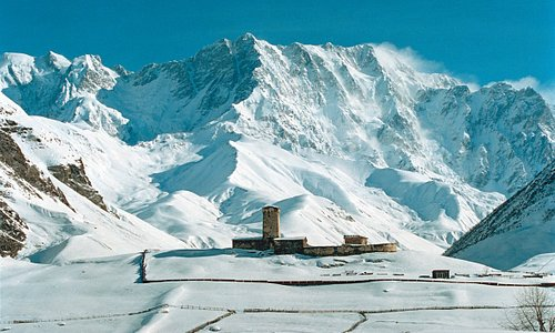 Europe's highest inhabited region, Svaneti, Ushguli