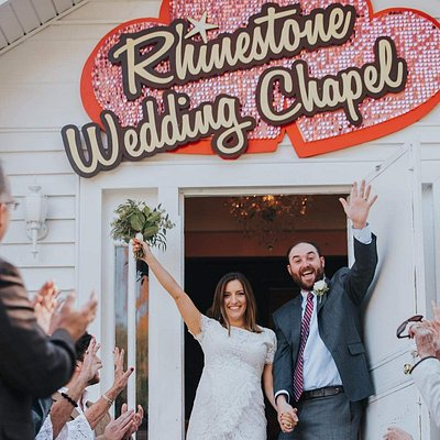 Congratulations to Calista & Clark of East Tennessee Just Married at our Destination Wedding Chapel in Nashville on Famous Music Row!