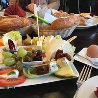 Das vegetarische Frühstück