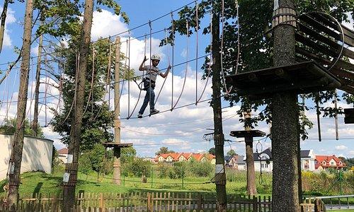 Park Linowy Ośrodka Sportu i Rekreacji w Lubawie