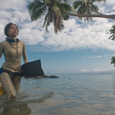 The calm water in Savusavu bay makes for ideal freediving conditions. Our training site is a 50 -100 meter swim from the beach. The possibilities for recreational diving are boundless: remote reefs, sharks, big fish, fish shoals, blue water diving and caves and caverns.
