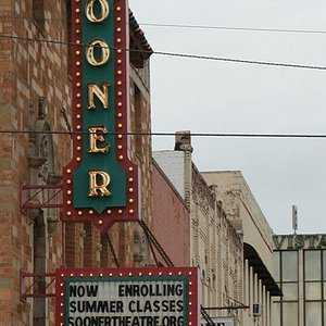 Sooner Theater Marquis
